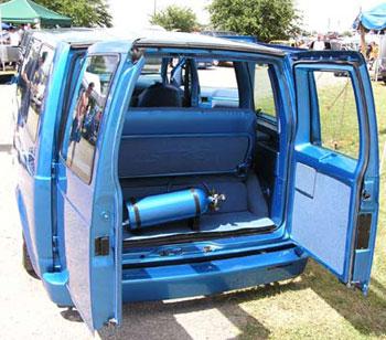 Chevrolet Fantastic Custom Interior