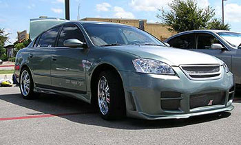 Nissan altima performance parts and accessories nissan altima custom front bumper grille and paint sciox Choice Image