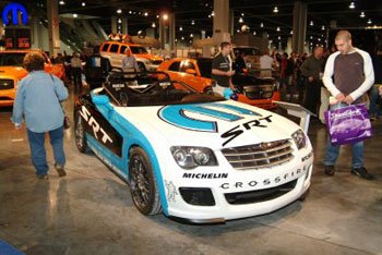 Chrysler Crossfire Performance Parts And Accessories