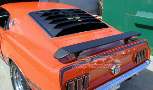 1965-1966 Ford Mustang Rear Window Louvers