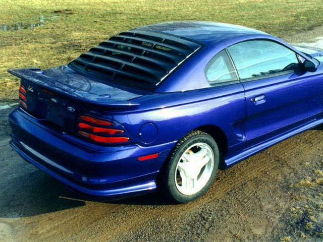Ford Mustang Rear Window Louvers 94-04