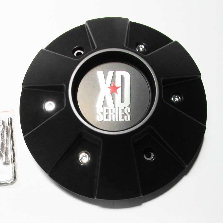 Center Cap For Kmc Xd Series Thump Wheel 8 Lug - Black