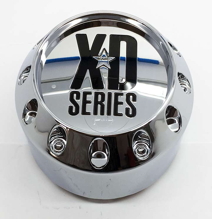 Chrome Center Cap For Kmc Xd Series Hoss Xd795 - 6 Lug
