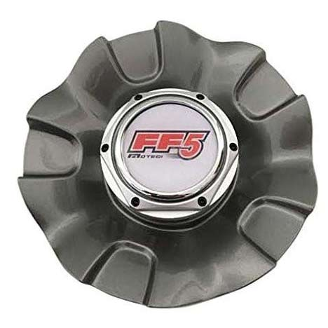Replacement Center Cap For Motegi Ff 5 Wheel Silver