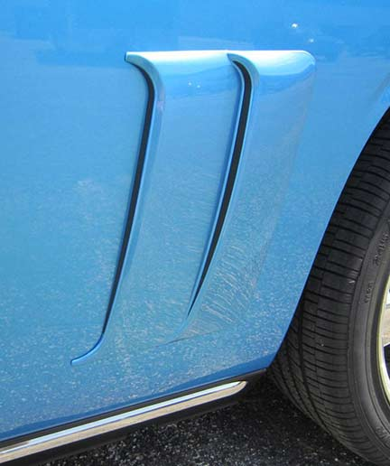 Dodge Challenger Quarter Panel Scoops