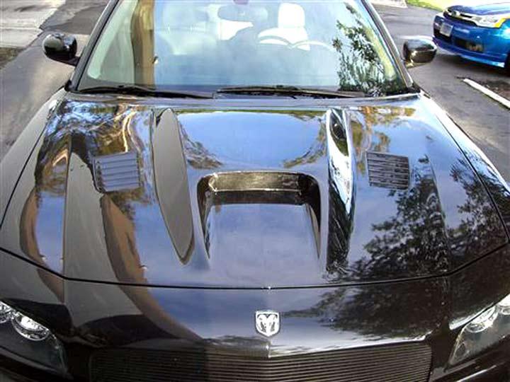 Dodge Charger 06-10 Hood- Gen 1 Fiberglass