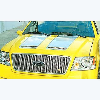 Ford F150 Fiberglass Hood With Vents