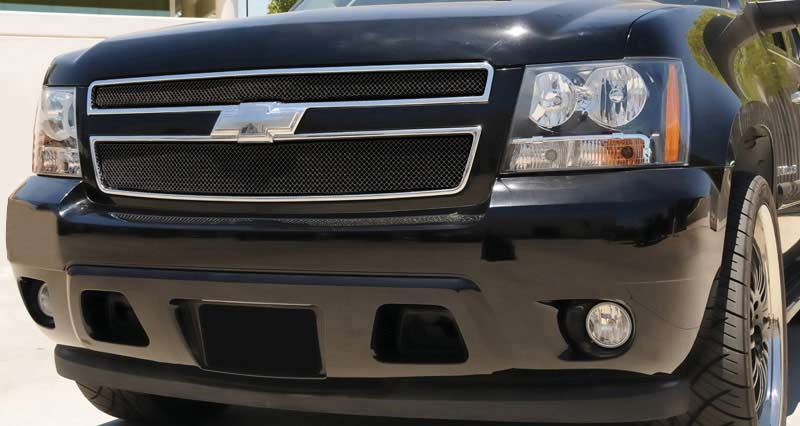 Chevy Tahoe Avalanche Black Mesh Grille