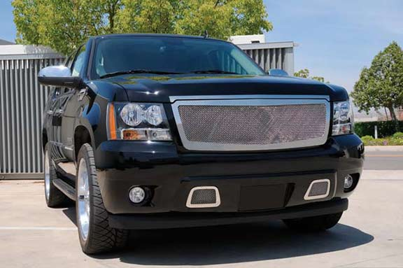 Chevy Tahoe Upper Grille Mesh Stainless Steel
