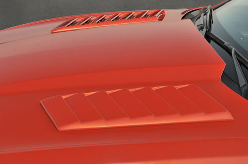 2010-Up Camaro Louvered Hood Scoops