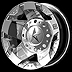Kmc Xd Series Rockstar Xd775 17x6 8x6.5 Chrome -94mm