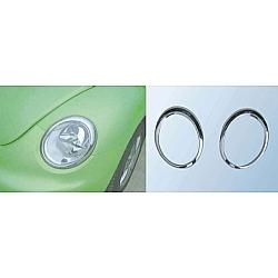 Volkswagen Beetle Chrome Headlight Trim 2006-2011