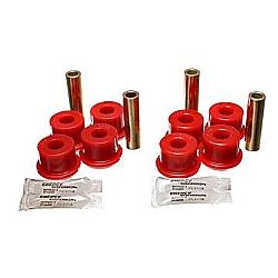 Control Arm Bushing Set; Red