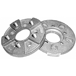 Trans-Dapt 3610 Billet Wheel Adapters 5 on 4-3//4 to 5 on 4-1//2 Pair Save $$$